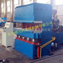 全自动强制开模橡胶鄂式硫化机200t接头鄂式C型平板硫化机