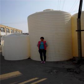 15吨塑料桶肥料储罐20吨滚塑水箱化工储罐PE塑胶水塔
