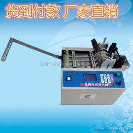 电池PVC套膜裁切机 电子绝缘管切管机 玻纤管自动剪管机
