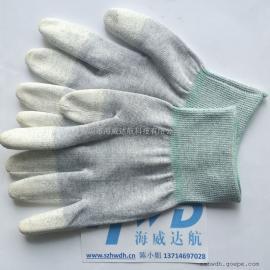 具有永久性防静电达到10~5次方效果防静电手套