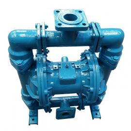 隔膜泵:QBY衬四氟防腐气动隔膜泵|耐腐蚀隔膜泵