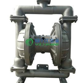 隔膜泵:QBY气动隔膜泵,铸铁,不锈钢,铝合金,工程塑料