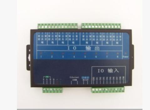 8路网络继电器模块|网络控制器RJ45网络IO|远程IO