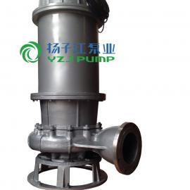 排污泵:QW型大流量不锈钢移动式潜水排污泵