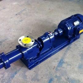 宣一牌I-1B浓浆泵 螺杆浓浆泵 不锈钢螺杆浓浆泵