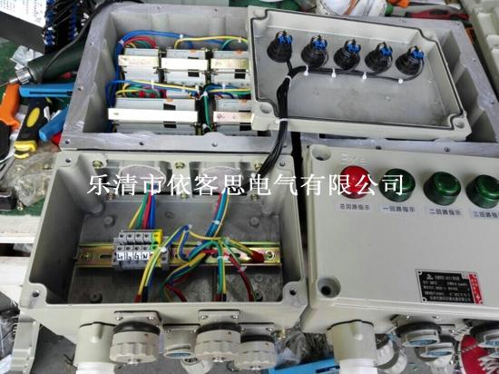 bxs防爆检修电源插座箱内部接线图