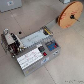 厂家热销PP织带电脑裁切机 礼品圣诞带切带机 PVC带自动剪断机