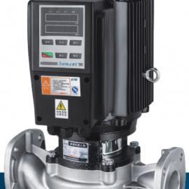 不锈钢/铸铁立卧式冷热水管道增压泵(带背附式变频)