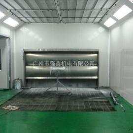 广州强鑫生产水帘式家具喷漆房 无尘家具喷烤房定制
