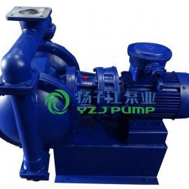 隔膜泵:DBY型不锈钢电动隔膜泵(配F46膜片)