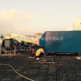 惠州玩具厂喷漆喷油废气净化