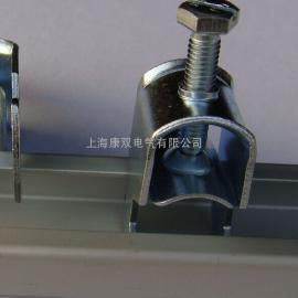 QVKS康双生产导电电缆夹 机柜屏蔽电缆夹 电磁屏蔽电缆夹
