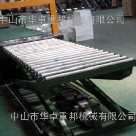 动力滚筒液压升降台 滚筒剪叉式升降机 中山升降货梯价格