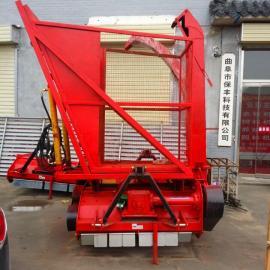 大庆市苞米杆粉碎回收机 秸秆黄储机 加宽型图片