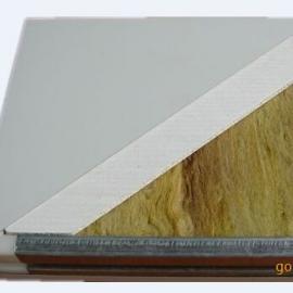 防火型彩钢板玻镁岩棉彩钢板