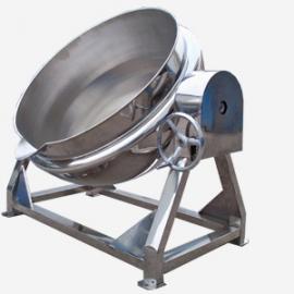 可倾式夹层锅 带搅拌器的夹层锅 双层蒸煮锅