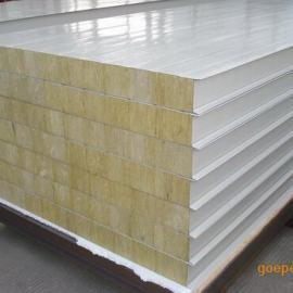 岩棉彩钢板,防火彩钢板,岩棉夹芯板