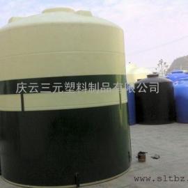 储存10吨盐酸/甲醇/15吨双氧水塑料水塔/20吨次氯酸钠