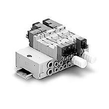 SMC真空�l生器�cSMC�磁�y�M合元件