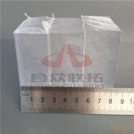 PC聚碳酸酯高分子透明材料超厚实心板30mm40毫米50