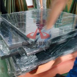 PC厚板聚碳酸酯透明板50mm80mm