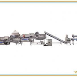 供应成都旋流式洗菜机,全自动商用洗菜机流水线洗菜机