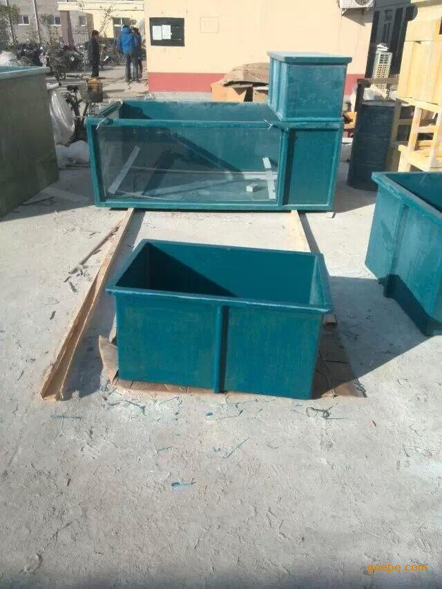 玻璃钢手糊水槽|玻璃钢养鱼池|玻璃钢养龟池|玻璃钢养