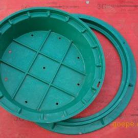 毕节树脂复合井盖浙江宏兴D400 EN124标准防盗井盖