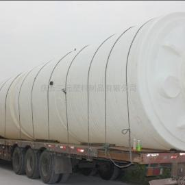 德州庆云新款抗氧化30000L消毒水塑料桶30吨双氧水储罐