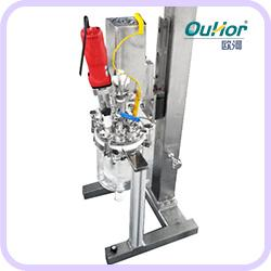AIR-5L实验室真空乳化系统|实验室乳化罐|真空反应釜