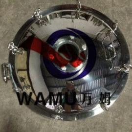温州万姆 YAD 卫生级圆形耐压视镜人孔 法兰人孔