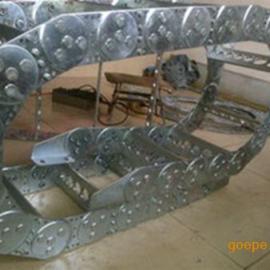 热卖机床链条 专用金属拖链 增强尼龙拖链免费送货