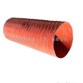 高压高温通风软管-不燃弹簧增强硅玻软管