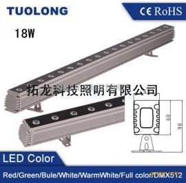 30W大功率LED墙面灯 品字形LED洗墙灯