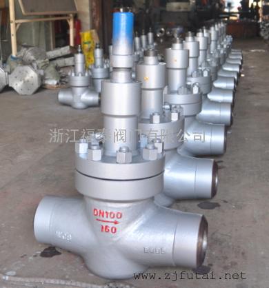 JL66Y高压焊接截止阀