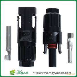 厂家现货直供光伏组件插头,MC4防水接头,太阳能电缆专用