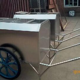定做手推垃圾车、街道垃圾车、不锈钢垃圾车