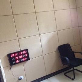 贵州审讯室25mm防撞布艺软包吸音板厂家