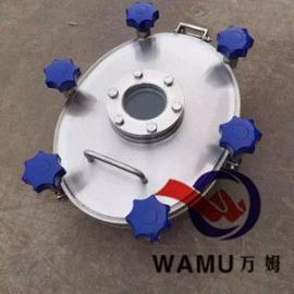 温州厂家实拍SUS304/316卫生级椭圆外开视镜人孔规格