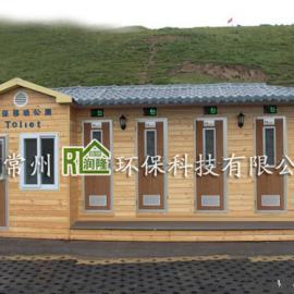 供应景区旅游厕所 江苏防腐木移动公厕厂家价格