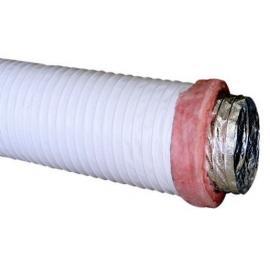 建筑空调vavbox箱专用阻燃防穿刺铝箔消音通风软管