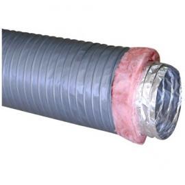 空调末端通风专用双螺旋铝塑复合保温软管