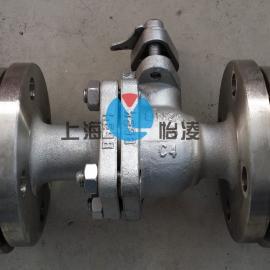 C4钢球阀|Q41F-16C4 浓硝酸专用球阀