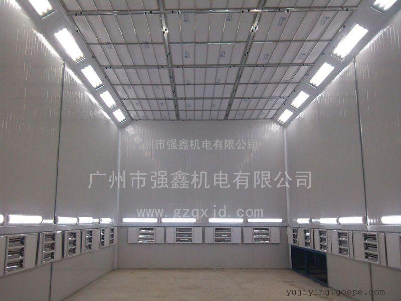 供应广州强鑫大巴车喷烤漆房、大客车烤漆房厂家报价