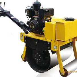 厂家直销小型手扶大单轮压路机 小型压路机 手扶压路机