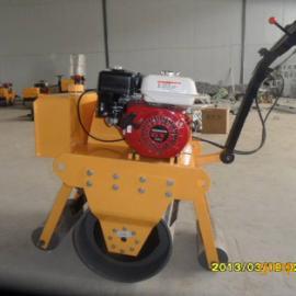 完美研制手扶式单钢轮压路机 小型振动压路机厂家直销