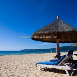 海南儋州市旅游区高档茅草伞厂家;涪陵市湿公园特价茅草伞报价