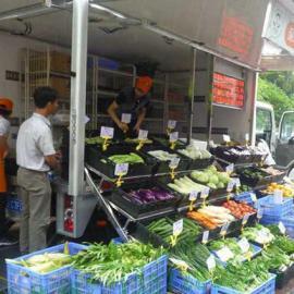 蔬菜售卖车