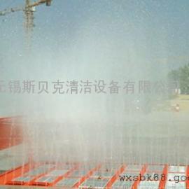 供应南京建筑工地洗车机,全自动冲洗平台