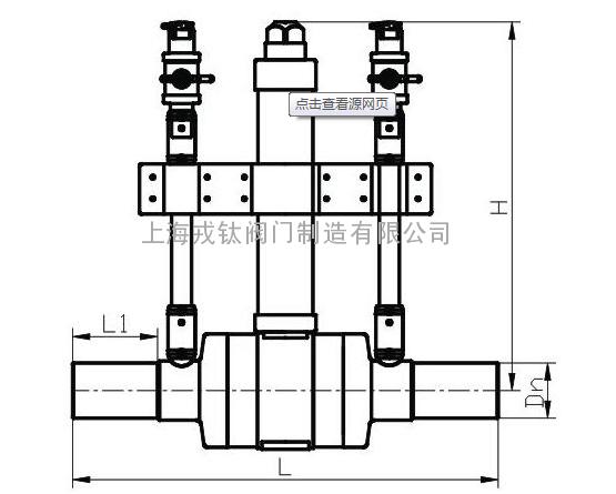 5):输气管道焊接球阀操作方式:手柄图片
